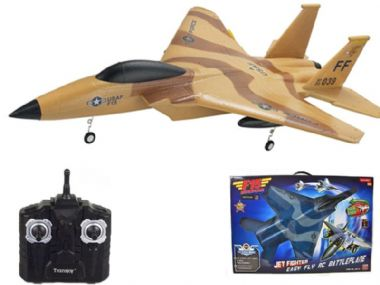 6213 RC Aircraft | F15 Jet Radio Controlled Airplane Glider Flying Gadget | MODELSHOP